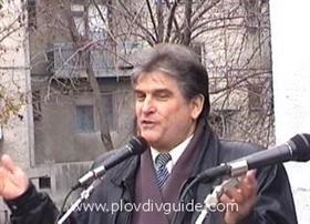 Der Direktor des Mathematischen Gymnasiums – Ehrenbьrger von Plovdiv