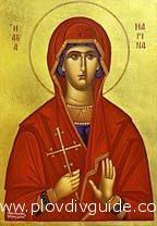 Orthodox Christianity celebrates the day of ST. MARINA on July 17