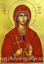 Die orthodoxen Christen feiern am 17.Juli den Tag der HL.MARINA