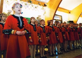 The Detska Kitka Choir and its European events
