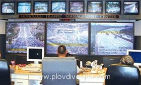 Videokontrolle des Straßenverkehrs