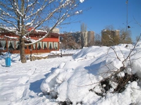 Snow in Plovdiv
