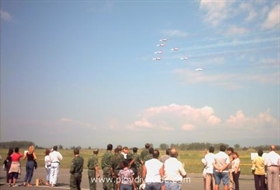 Flughafen Krumovo arbeitet auf hohen Touren