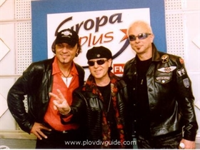 Atanas Parushev designed the outfits of The Scorpions