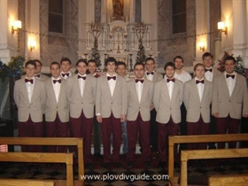 Der Chor der Plovdiver Jugendlichen