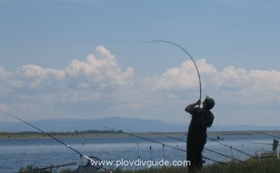 Fishing competition for kids