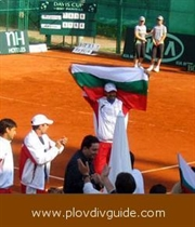 Bulgaria defeated Cyprus in the tennis competition