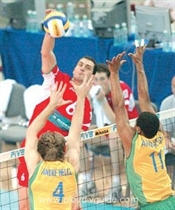 Bulgaria Steamrolls Brazil 3-0