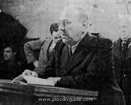 """I am deeply convinced that the cause of Bulgaria has not been lost ..."" Atanas Burov was born on that day back in 1875"