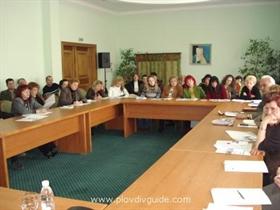 Die Union der Demokratischen Kräfte SDS Plovdiv organisiert Runden Tisch über das neue MwSt- Gesetz