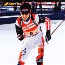Irina Nikoulchina won the bronze medal!