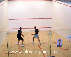 Plovdiv ist Gastgeber des Totalsport -  Internationalen Squash – Turniers