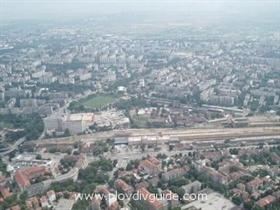 Hauptbahnhof Plovdiv zu privaten Unternehmern