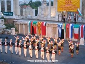 Internationales Folklorefestival in Plovdiv