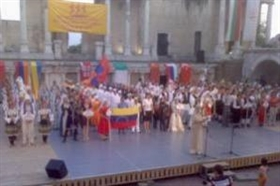 14th International Folklore Festival Plovdiv 2007 is closing