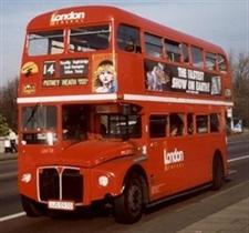 Plovdiv – mit Doppeldeck- Bussen wie London