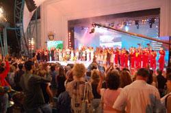 Plovdiver Sängerin mit Grand Prix von Burgas und das Meer – Festival