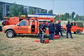Plovdiv Firefighters in Greece