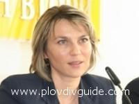 Biliana Raeva opening Information Office in Plovdiv