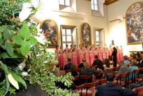 Evmolpeya Choir performing at the Bulgariada Festival in Serbia
