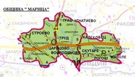 Neue Industriezone in der Umgebung von Plovdiv