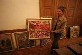 Exhibiiton at the Boviel Art Gallery