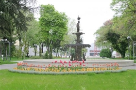 The Fountain of the First Bulgarian Agriculture and Industrial Fair back in 1892 has been reconstructed