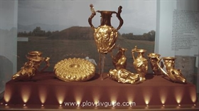 Panagyurishte Golden Treasure  will be exhibited for six days at thePlovdiv International Fair