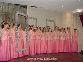 The Plovdiv choir Evmolpea touring around Europe