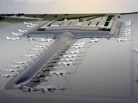 Flughafen Plovdiv mit neuem Terminal