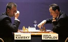 Topalov bezwingt Kamsky im 32. Zug