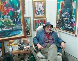 Exhibition of Dimiter Kirov's paintings