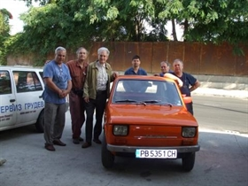 Bulgarian enginer transformed his old Fiat to run on electricity - 80 km with a single charge. Not bad, isn't it?