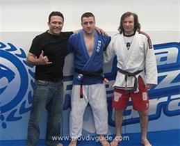 Jui Jitsu Black Belt for the Plovdiv sportsman, Peter Baltaliiski