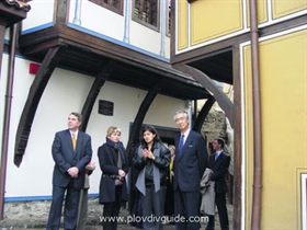 Plovdiv History Museum with new exhibition equipment funded byt he government of Japan