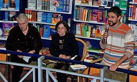 Presentation of Zhivka Baltadzhieva's latest book of poetry on Tuesday, Jan.19, 2010