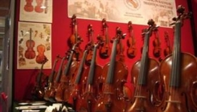 """Magic of the Violin"" exhibition at the Balabanov House Museum"