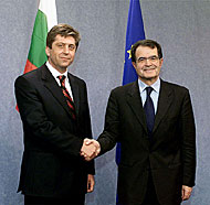PRESIDENT PURVANOV - BRUSSELS