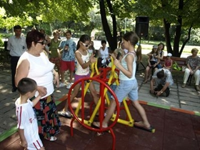 Zwei neue Kinderspielplätze in Plovdiv