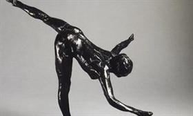 Изложба скулптури на Едгар Дега в Пловдив