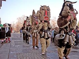 Kukove 2011 - Internationales Festival für Kukeri- und Faschingsspiele in Rakovski
