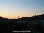 Залез над Пловдив.