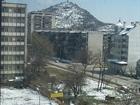 Mid-spring snow