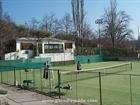 19. A tennis-court