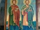 The Holy Brothers icon