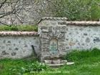 The churchyard fountain