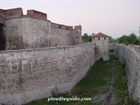 Moat around the fortress