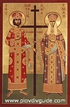 ST. ST. CONSTANTINE AND HELENA - May 21