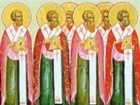 The Holy Apostles of the Seventy: Erastus, Olympas, Rodion, Sosipater, Quartus and Tertius (lived during the first century) - November 10