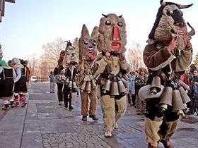 Kukove 2012 - Internationales Festival für Kukeri- und Faschingsspiele in Rakovski